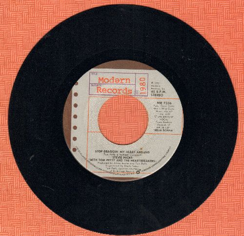 Nicks, Stevie - Stop Draggin' My Heart Around/Kind Of Woman - EX8/ - 45 rpm Records