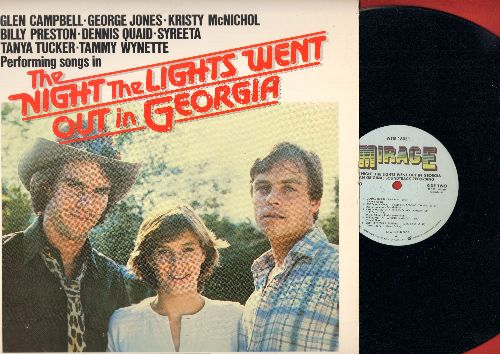The Night The Lights Went Out In Georgia - The Night The Lights Went Out In Georgia - Original Motion Picture Soundtrack featuring title song by Tanya Tucker (Vinyl STEREO LP record) - NM9/NM9 - LP Records