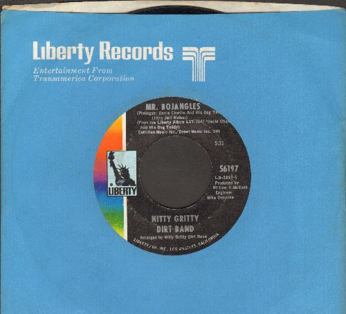 Nitty Gritty Dirt Band - Mr. Bojangles (LONG version and SHORT version with Liberty company sleeve) - EX8/ - 45 rpm Records