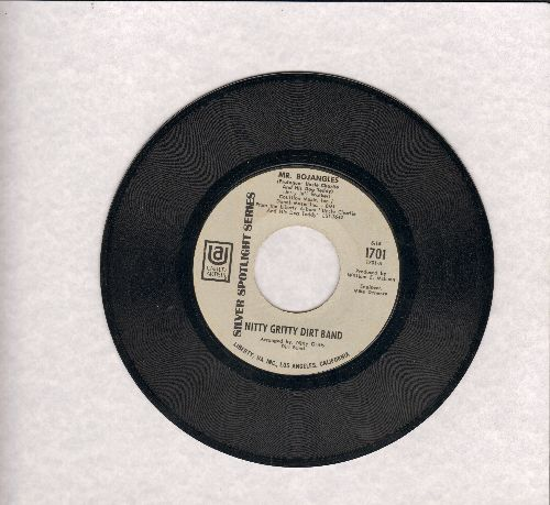 Nitty Gritty Dirt Band - Mr. Bojangles (long version)/Uncle Charlie Interview #2/Spanish Fandango (early re-issue) - EX8/ - 45 rpm Records