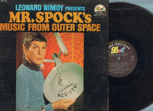 Nimoy, Leonard - Mr. Spock's Music From Outer Space: Theme From Star Trek, Music To Watch Girls By, Twinkle Twinkle Little Earth, A Visit To A Sad Planet (vinyl MONO LP record) - VG7/VG7 - LP Records
