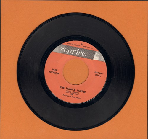 Nitzsche, Jack - The Lonely Surfer/Song For A Summer Night - EX8/ - 45 rpm Records