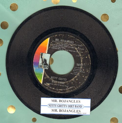 Nitty Gritty Dirt Band - Mr. Bojangles (long and short version, with juke box label) - VG7/ - 45 rpm Records
