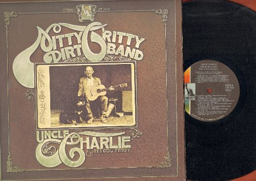 Nitty Gritty Dirt Band - Uncle Charlie and His Dog Teddy: Mr. Bojangles, Some Of Shelley's Blues, The Cure, Rave On, Jesse James, House At Pooh Corner (vinyl STEREO LP record, gate-fold cover) - NM9/EX8 - LP Records