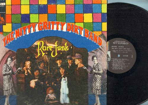 Nitty Gritty Dirt Band - Rare Junk: These Days, Reason To Believe, Willie The Weeper, Dr. Heckle And Mr. Jibe (vinyl STEREO LP record) - NM9/EX8 - LP Records
