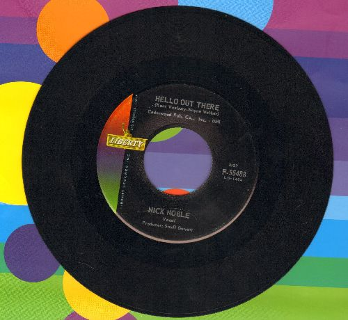 Noble, Nick - Hello Out There/We Could (MINT condition!) - M10/ - 45 rpm Records
