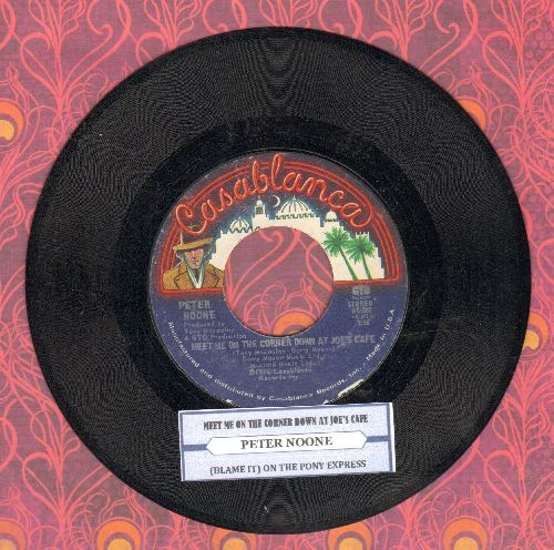 Four Aces - Mister Sandman/In Apple Blossom Time (with Decca company sleeve and juke box label) - EX8/ - 45 rpm Records