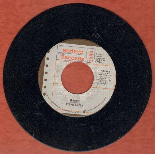 Nicks, Stevie - Garbo/Stand Back  - NM9/ - 45 rpm Records