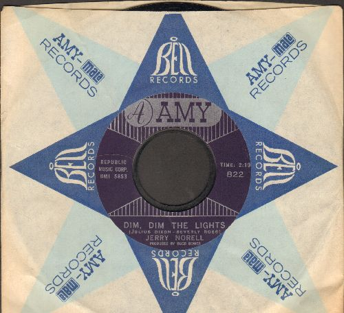 Norell, Jerry - Dim, Dim The LightsWanderin' (with vintage Amy company sleeve) - NM9/ - 45 rpm Records