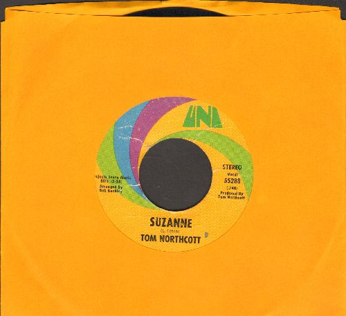 Northcott, Tom - Suzanne/Spaceship Races - VG7/ - 45 rpm Records