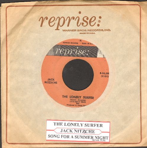 Nitzsche, Jack - The Lonely Surfer/Song For A Summer Night (with juke box label and Reprise company sleeve) - EX8/ - 45 rpm Records