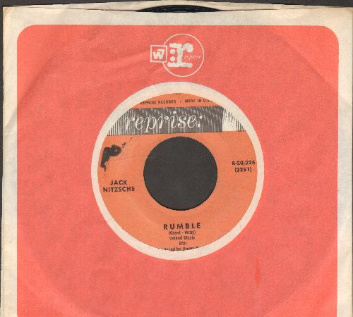 Nitzsche, Jack - Rumble/Theme For A Broken Heart (with Reprise company sleeve) - NM9/ - 45 rpm Records