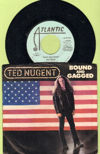 Nugent, Ted - Bound And Gagged (double-hit re-issue with picture sleeve) - NM9/EX8 - 45 rpm Records