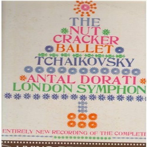 London Symphony, Antal Dorati, conducter - The Nut Cracker Ballet - Tchaikovsky - RARE Living Presnce Hi-Fi 35mm 2 vinyl LP record set  - EX8/EX8 - LP Records