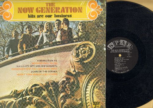 New Generation - Hits Are Our Business: Wedding Bell Blues, It Must Be Him, Groovin', Michelle, These Boots Are Made For Walking (vinyl STEREO LP record) - NM9/VG7 - LP Records