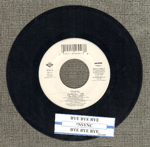 NSYNC - Bye Bye Bye (double-A-sided DJ advance pressing with juke box label) - EX8/ - 45 rpm Records