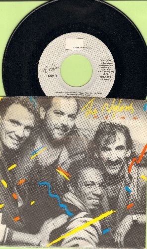 Nylons - Kiss Him Goodbye/It's What They Call Music (with picture sleeve) - NM9/EX8 - 45 rpm Records