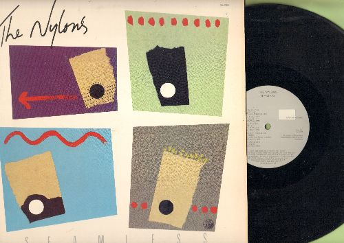 Nylons - Seamless: The Lion Sleeps Tonight, Up On The Roof, Remember (Walking In The Sand), This Boy (vinyl STEREO LP record) - EX8/EX8 - LP Records