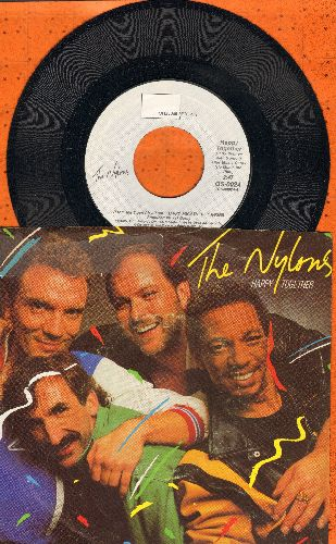 Nylons - Happy Together/Face In The Crowd (with picture sleeve) - NM9/VG7 - 45 rpm Records