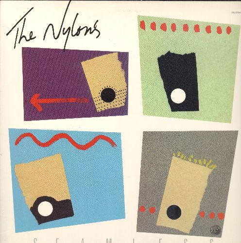Nylons - One Size Fits All: The Lion Sleeps Tonight, Up On The Roof, Remember (Walking In The Rain), This Boy (Vinyl STEREO LP record) - M10/NM9 - LP Records