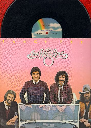 Oak Ridge Boys - Fancy Free: Elvira, I'm Sittin' Fancy Free, How Long Has It Been, Dream Of Me (Vinyl LP record, gate-fold cover) - NM9/NM9 - LP Records