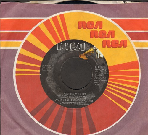 Hall & Oates - Kiss On My List/Africa  - EX8/ - 45 rpm Records