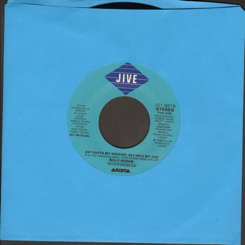 Ocean, Billy - Get Outta My Dreams, Get Into My Car/Showdown  - EX8/ - 45 rpm Records