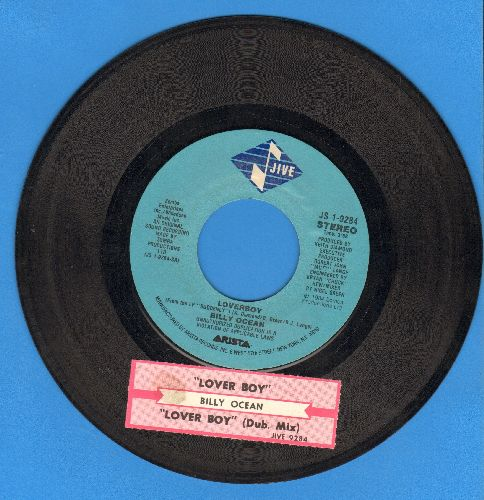 Ocean, Billy - Loverboy (DANCE CLUB FAVORITE!)/Loverboy (Dub Mix)  - VG7/ - 45 rpm Records