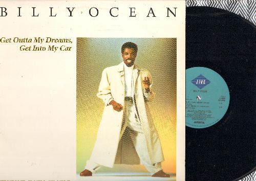 Ocean, Billy - Get Outta My Dreams, Get Into My Car - 12 inch vinyl Maxi Single with 5 Different Extended Dance Club Mixes, with picture cover - NM9/EX8 - Maxi Singles