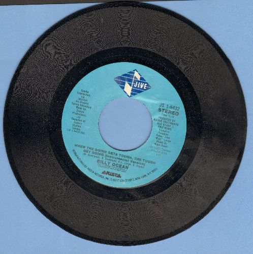 Ocean, Billy - When The Going Gets Tough (The Tough Get Going) - EX8/ - 45 rpm Records