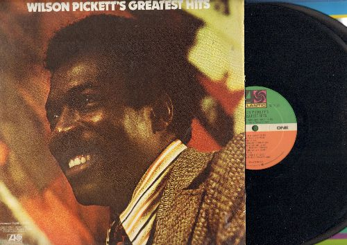 Pickett, Wilson - Greatest Hits: In The Midnight Hour, Mustang Sally, Land Of 1000 Dances, Hey Jude, You Keep Me Hangin' On (2 vinyl STEREO LP records, gate-fold cover) - NM9/VG7 - LP Records