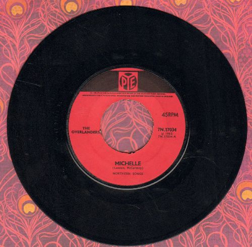 Overlanders - Cradle Of Love/Michelle  - EX8/ - 45 rpm Records
