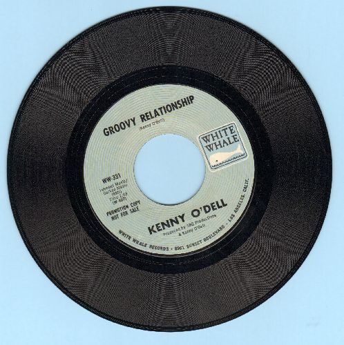 O'Dell, Kenny - Groovy Relationship (double-A-sided DJ advance pressing) - NM9/ - 45 rpm Records