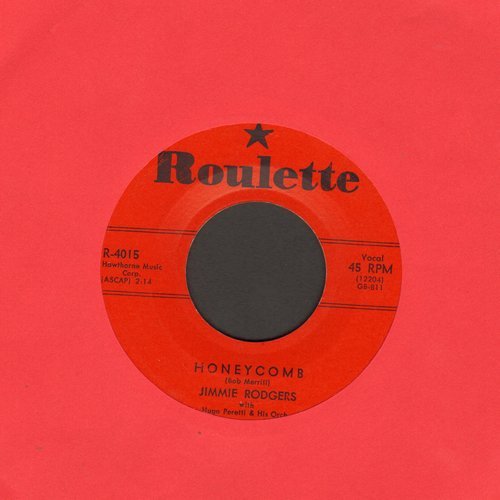 Rodgers, Jimmie - Honeycomb/Their Hearts Were Full Of Spring (red label first issue) - EX8/ - 45 rpm Records
