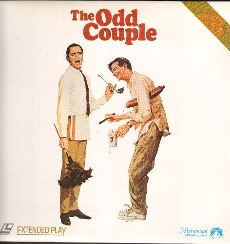 The Odd Couple - The Odd Couple - LASER DISC version of the Comedy Classic (This is a LASER DISC, not any other kind of media!) - NM9/NM9 - LaserDiscs