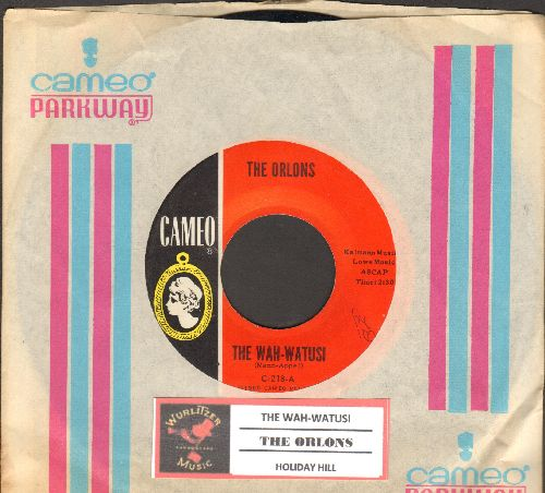 Orlons - The Wah-Watusi/Holiday Hill (original first issue with juke box label and RARE Cameo company sleeve) - NM9/ - 45 rpm Records