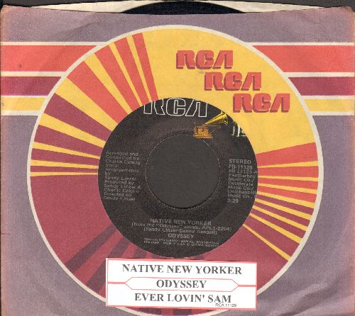 Odyssey - Native New Yorker/Ever Lovin' Sam (with RCA company sleeve and juke box label) - NM9/ - 45 rpm Records