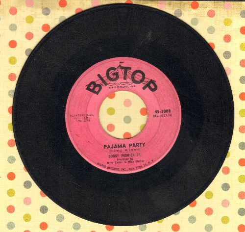 Pedrick, Bobby Jr. - Pajama Party/Betty Blue Eyes - VG7/ - 45 rpm Records