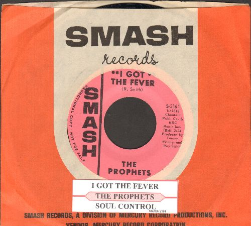 Prophets - I Got The Fever/Soul Control (RARE DJ advance pressing with juke box label and Smash company sleeve) - M10/ - 45 rpm Records
