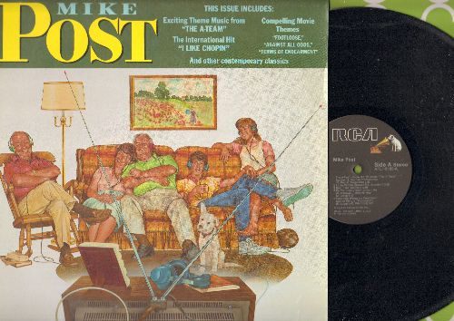 Post, Mike - Mike Post The A-Team, St. Elswhere, Terms Of Endearment, Footloose (vinyl STEREO LP record) - NM9/NM9 - LP Records