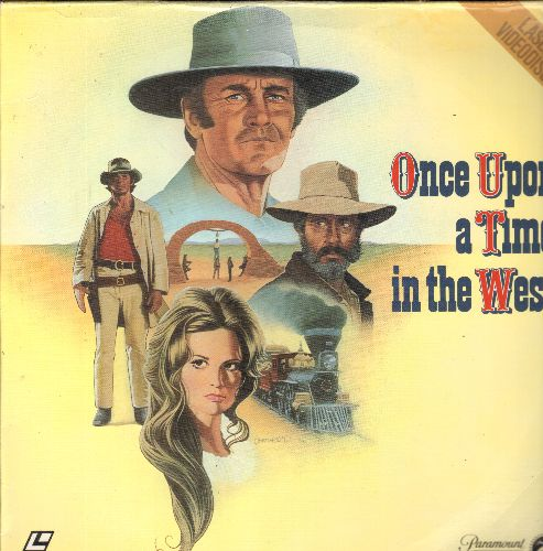 Once Upon A Time In The West - Once Upon A Time In The West - The Cult-Classic Spaghetti-Western on 2 LASER DISCS (These are LASER DISCS, not any other kind of media!) - NM9/NM9 - LaserDiscs