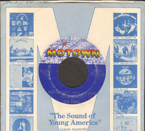 Ones - You Haven't Seen My Love/Happy Day (with Motown company sleeve) - VG7/ - 45 rpm Records
