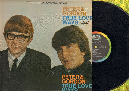 Peter & Gordon - True Love Ways: To Know You Is To Love You, Crying In The Rain, Any Day Now (Vinyl STEREO LP record) - EX8/EX8 - LP Records