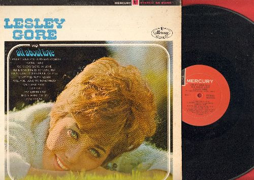 Gore, Lesley - Lesley Gore Sings All About Love: Young Love, To Know Him Is To Love Him, Will You Love Me Tomorrow, Start The Party Again (Vinyl STEREO LP record) - EX8/VG7 - LP Records