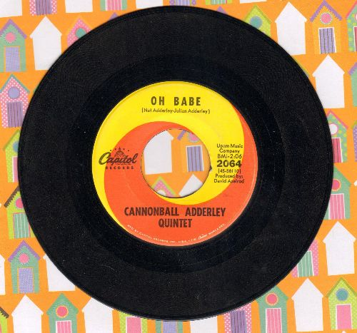 Adderley, Cannonball Quintet - Games/Oh Babe - NM9/ - 45 rpm Records