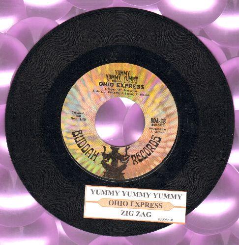 Ohio Express - Yummy, Yummy, Yummy/Zig Zag (with juke box label) - EX8/ - 45 rpm Records