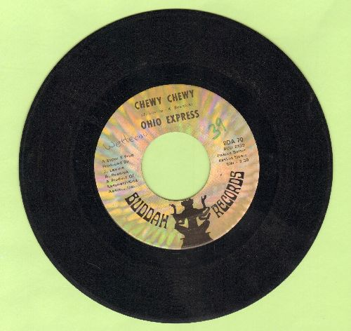 Ohio Express - Chewy Chewy/Firebird (minor wol) - VG7/ - 45 rpm Records