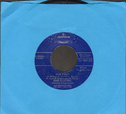 Ohio Players - Skin Tight/Jive Turkey (Part 1) (double-hit-reissue) - NM9/ - 45 rpm Records