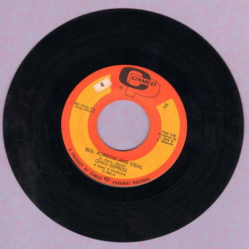 Ohio Express - Beg, Borrow And Steal/Maybe - EX8/ - 45 rpm Records