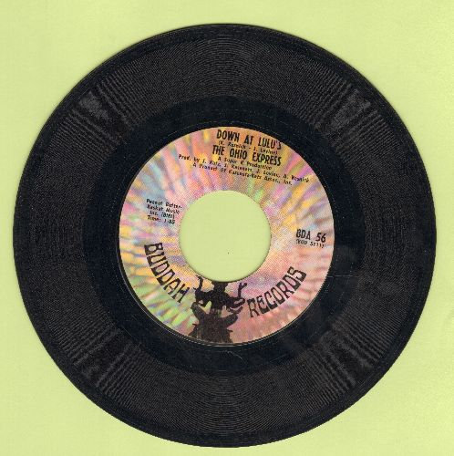 Ohio Express - Down At Lulu's/She's Not Coming Home - EX8/ - 45 rpm Records